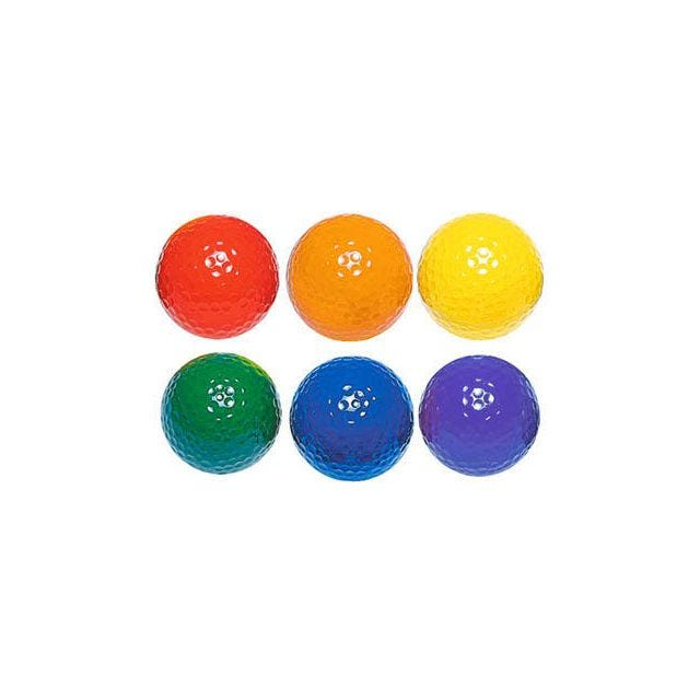 Colored Putting Balls