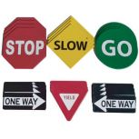 Poly Traffic Sign Spot Markers