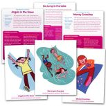 Body Challenge Exercise Cards