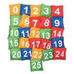 Numbered Beanbags 0-25