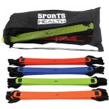Sports Health™ Colored Agility Ladder 4 Pack