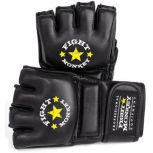 Fight Monkey® Pro Series Leather MMA/Bag Gloves