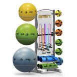 Smart Fitness Deluxe Storage Tower
