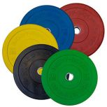 Body-Solid® Colored Olympic Bumper Plates