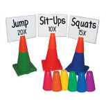 The Zone™ Cone Toppers & White Boards