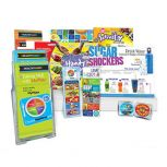 Food and Fitness Health Fair Kit Supply Refill Package