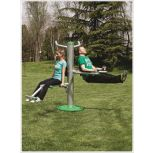 Outdoor Tri Fitness Station