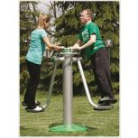 Outdoor Dual Hip Station