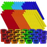 The Zone™ Super Straps & Flags 36 Player Packs