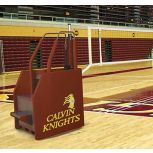Bison VB8100 Arena™ II Freestanding Portable Volleyball System: Complete System