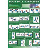 Body Ball Exercise Posters