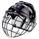 Helmet with Wire Cage